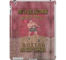 Mighty Mick's Boxing iPad Case/Skin