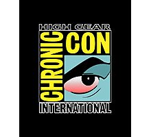 High Gear International Chronic Con - HGICC - Black iCases Photographic Print