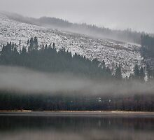 Mist over Loch Chon by Susan Dailey