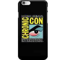 High Gear International Chronic Con - HGICC - Black iCases iPhone Case/Skin