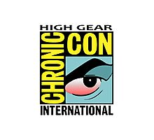 High Gear International Chronic Con - HGICC - White iCASES Photographic Print
