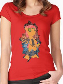 Robabs Women's Fitted Scoop T-Shirt