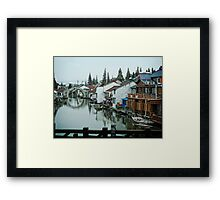 The Asian Venice Framed Print
