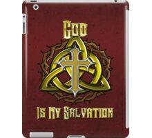 God Is My Salvation iPad Case/Skin