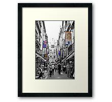 London Court Framed Print