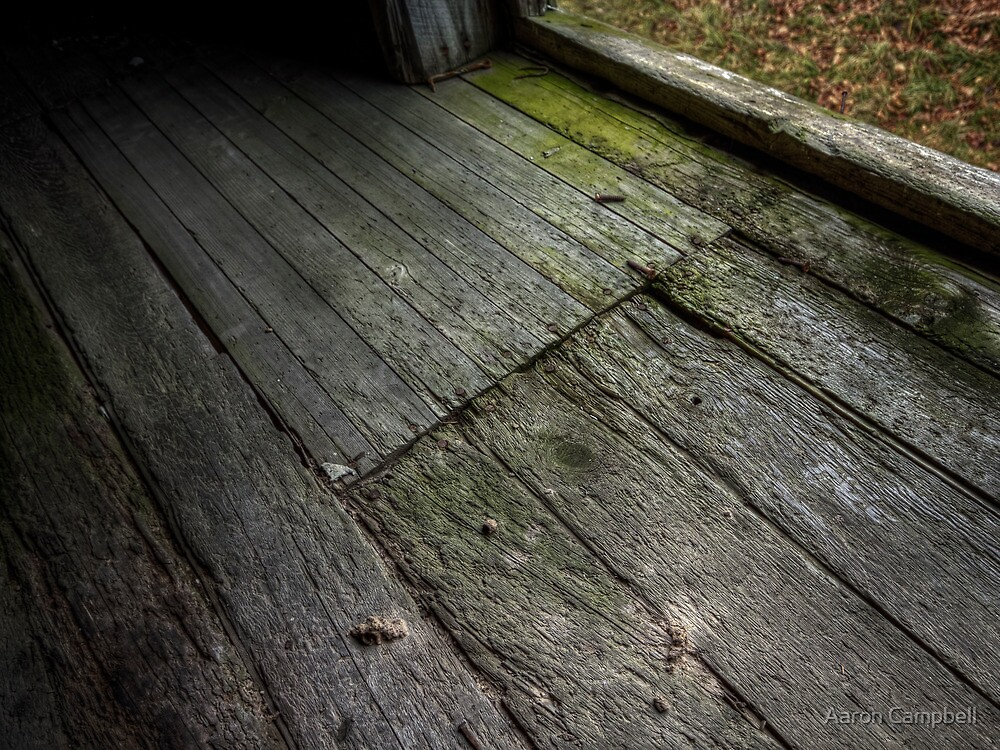 Bunkhouse Floorboards Nov 2012 by Aaron Campbell