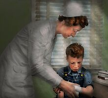 Nurse - Mending spirits 1939 by Mike  Savad