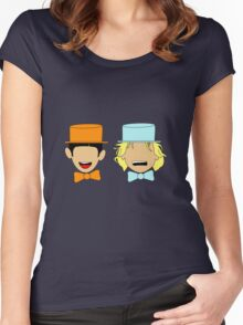 Harry and Lloyd Women's Fitted Scoop T-Shirt