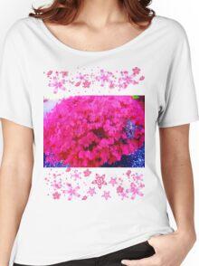 Fuschia bush Women's Relaxed Fit T-Shirt