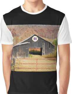 Kentucky Barn Quilt - Octagon Variation  Graphic T-Shirt