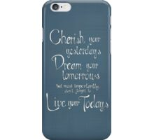 Cherish Dream Live iPhone Case/Skin