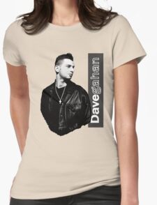 Dave Gahan 1990 Womens Fitted T-Shirt