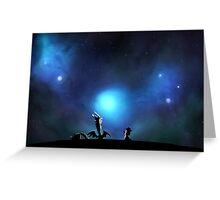 Nebulagazing Greeting Card