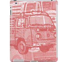 Red Bay Campervan Montage iPad Case/Skin