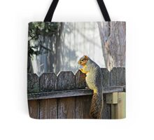Curious Neighbor Tote Bag