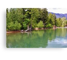 World of Green Canvas Print
