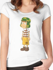 El Chavo Women's Fitted Scoop T-Shirt