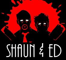 The Adventures of Shaun and Ed by chesypoof