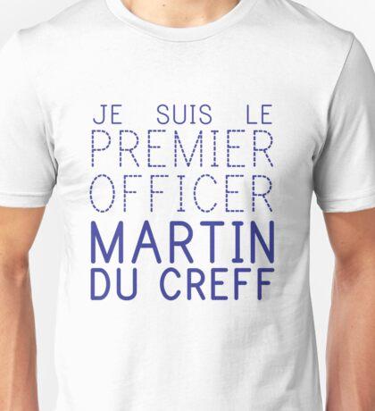 Je Suis le premiere officer  Unisex T-Shirt