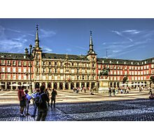 The place to be in Madrid Photographic Print