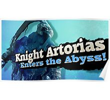 Knight arrtorias enters the abyss Poster