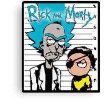 Rick Morty Canvas Print