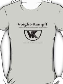 Voight Kampff - VK - Offworld Colonies T-Shirt