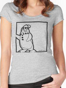 Penguin Black Women's Fitted Scoop T-Shirt