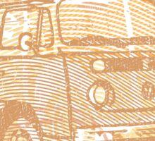 Brown Bay Campervan Montage Sticker