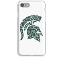 Michigan State Doodle iPhone Case/Skin