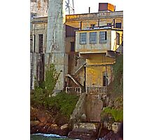 Alcatraz Prison - Wardens Landing - San Francisco Photographic Print