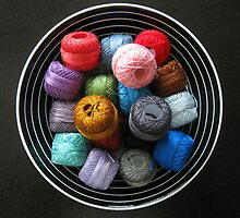 A Colorful Thread by StitchedinColor