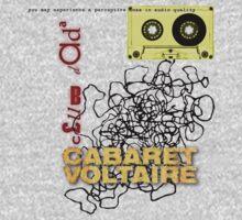 club dada - cabaret voltaire [tape spaghetti] Kids Clothes