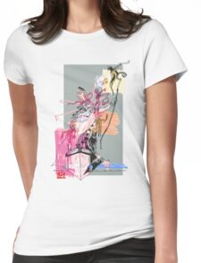 Nik the Fury Womens Fitted T-Shirt