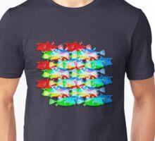 RGB Fish [rainbow meatball] Unisex T-Shirt