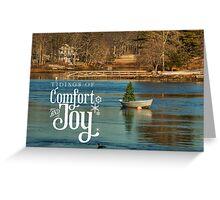 Fishermans Christmas Greeting Card
