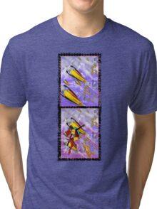 space ship invasion - jetpack squadron Tri-blend T-Shirt