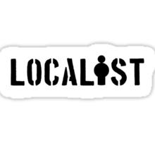 Localist Sticker