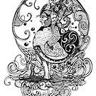 Sir Lathyrus Odoratus by Katie Faile
