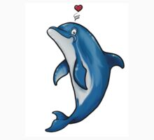 Bottlenose Dolphin Love Kids Clothes