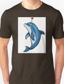 Bottlenose Dolphin Love T-Shirt