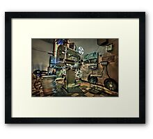 Cinematica Framed Print