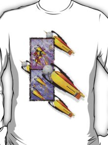 space ship invasion squadron T-Shirt