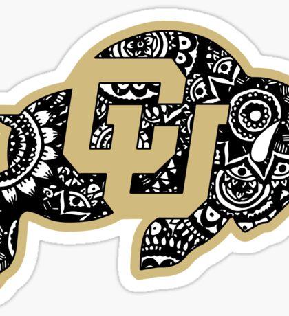 Boulder Doodle Sticker