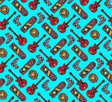 Back to the Future Pattern by santagross