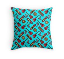 Back to the Future Pattern Throw Pillow