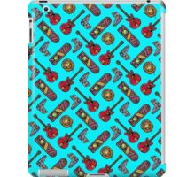 Back to the Future Pattern iPad Case/Skin