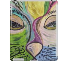 Flirty Feline - Oh Those Cat Eyes! iPad Case/Skin
