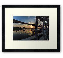Seletar Sails Framed Print