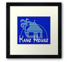 Kame House Fantasy Framed Print